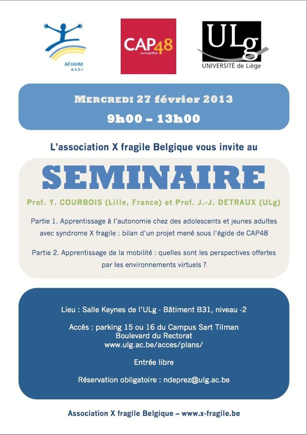 Invitation au séminaire Cap48-2