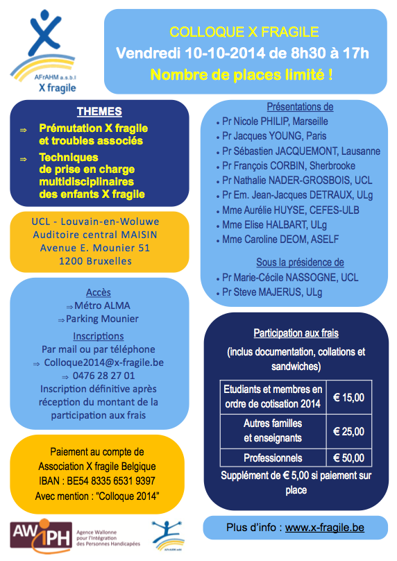 Affiche colloque 2014-2