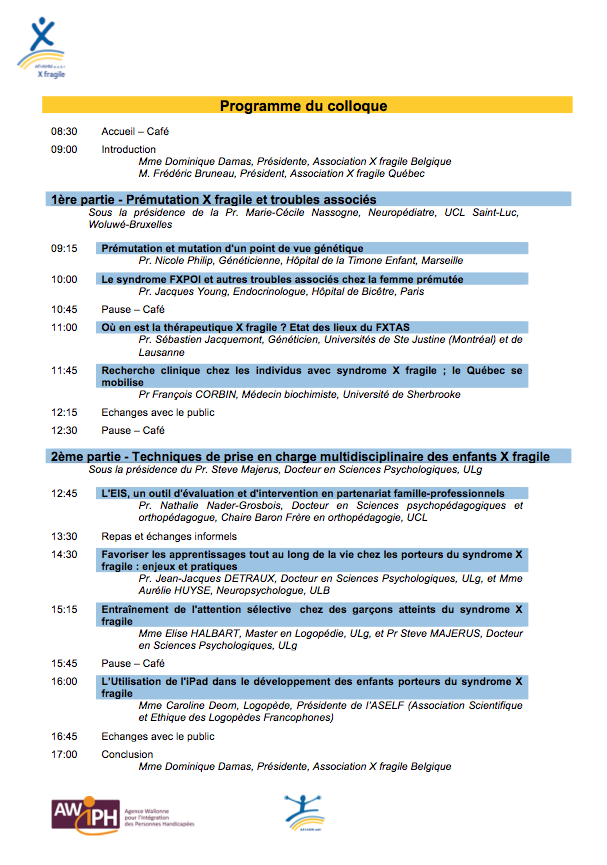 Programme du colloque 2014-4
