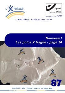 X Presse 87 - Couverture