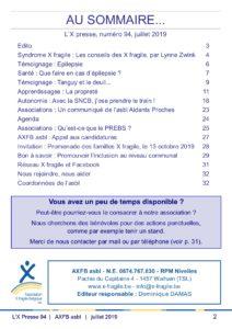 X Presse 94 - Sommaire