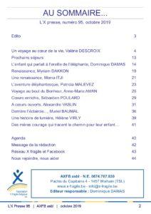 X Presse 95 - Sommaire